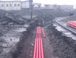 OPI- Kanal klar til støyping