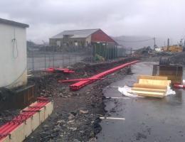 Bygging av OPI kanal